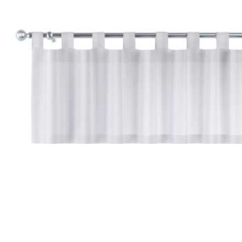 Gardinkappe med stropper fra kolleksjonen Linen, Stoffets bredde: 392-03