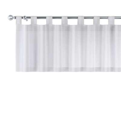 Lambrekin na szelkach w kolekcji Linen, tkanina: 392-03