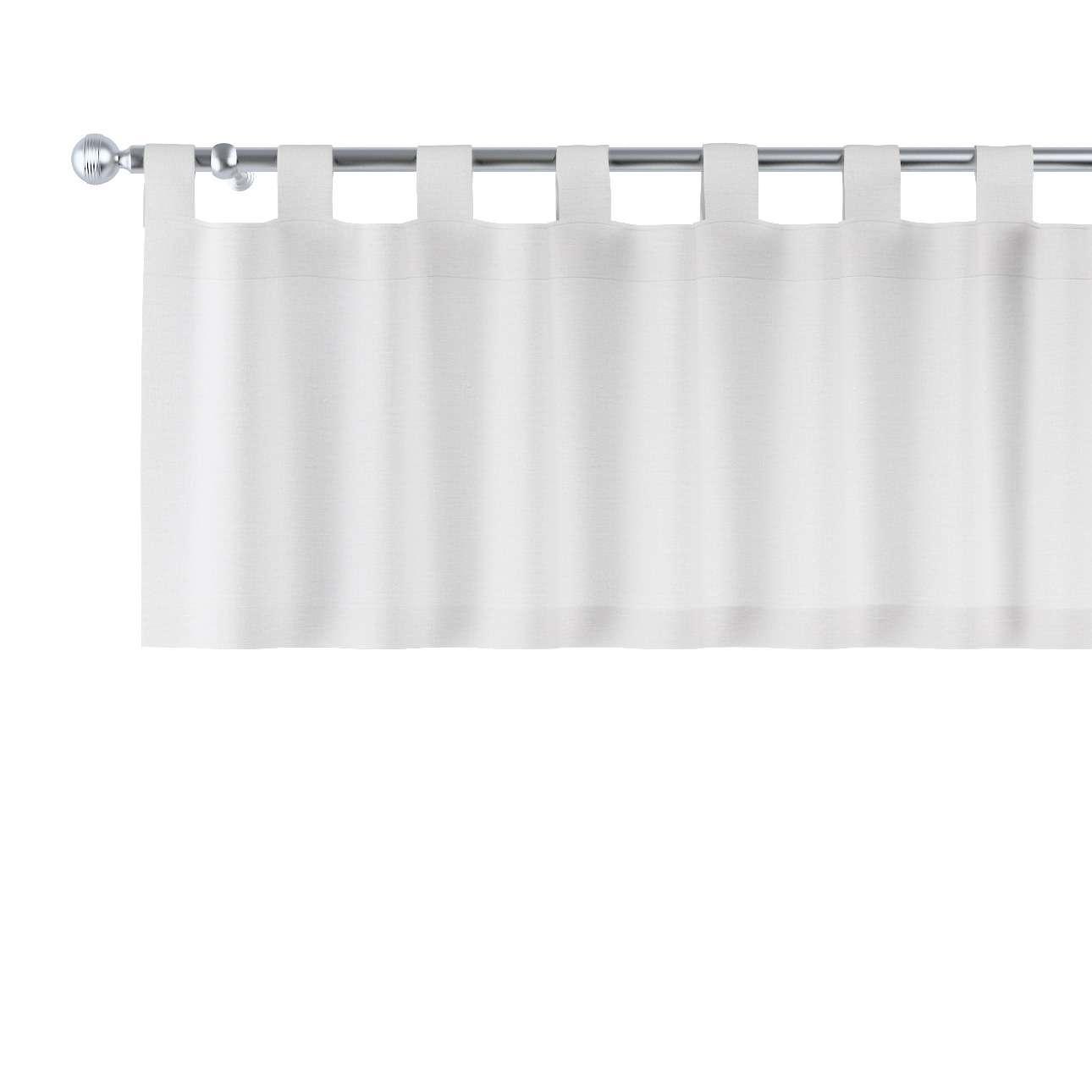 Gardinkappe med stropper 130x40cm fra kolleksjonen Linen, Stoffets bredde: 392-04