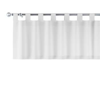 Kurzgardine mit Schlaufen 130x40cm von der Kollektion Leinen, Stoff: 392-04