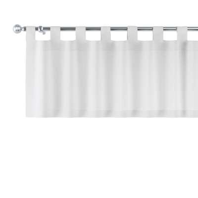 Kurzgardine mit Schlaufen von der Kollektion Leinen, Stoff: 392-04