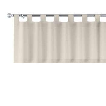 Gardinkappe med stropper 130x40cm fra kolleksjonen Linen, Stoffets bredde: 392-05