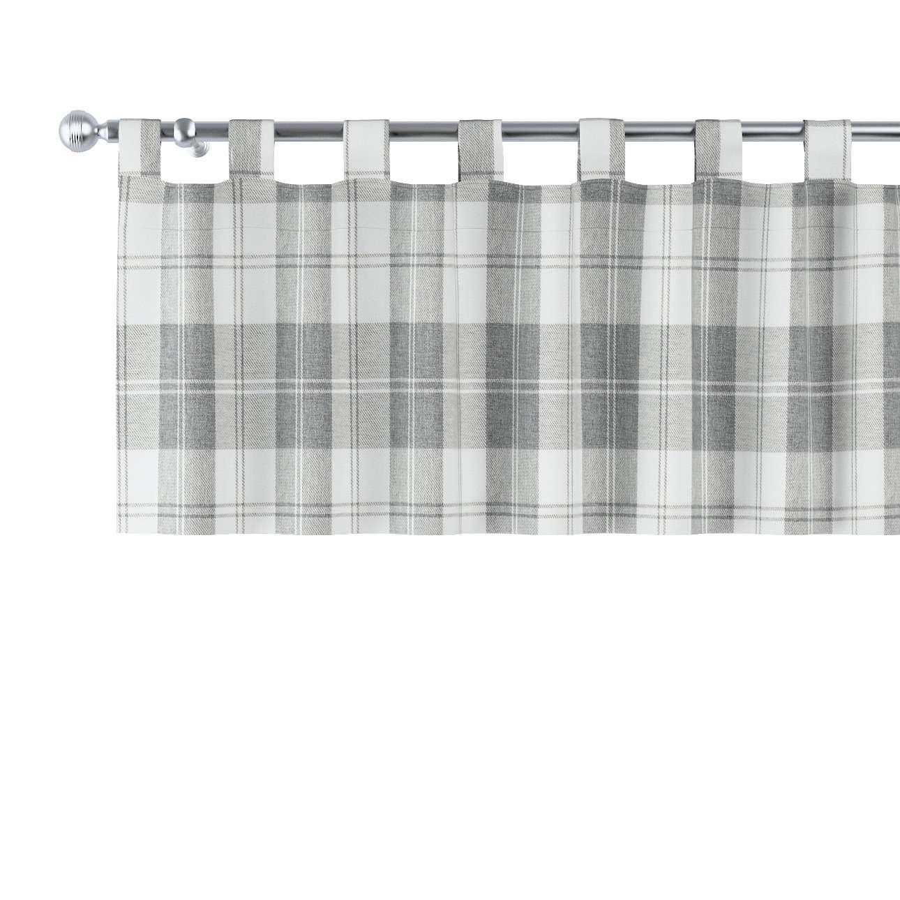 Lambrekin na szelkach 130x40cm w kolekcji Edinburgh, tkanina: 115-79