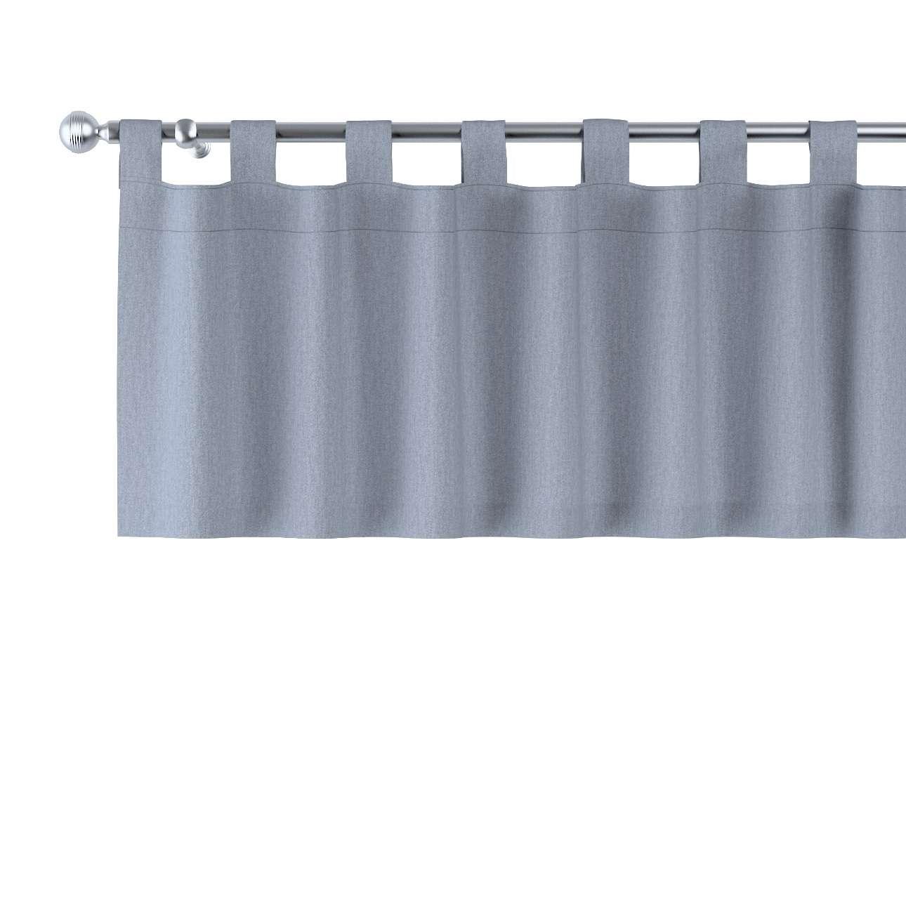 Gardinkappa med hällor 130x40cm i kollektionen Chenille, Tyg: 702-13