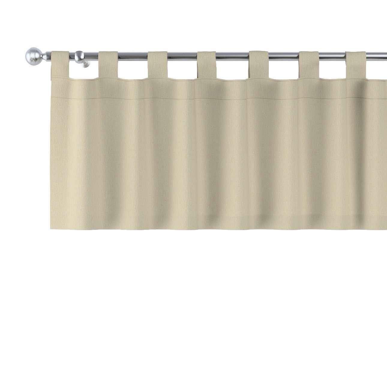 Kurzgardine mit Schlaufen 130x40cm von der Kollektion Chenille , Stoff: 702-22
