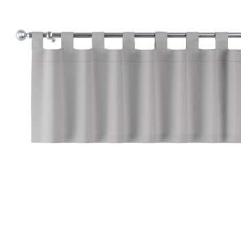 Gardinkappa med hällor 130x40cm i kollektionen Chenille, Tyg: 702-23