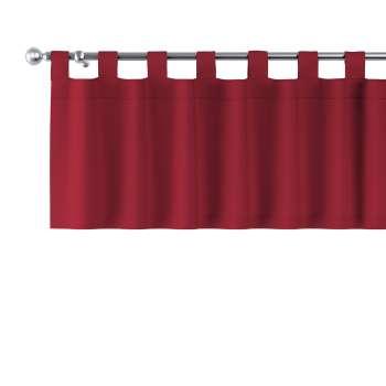 Gardinkappe med stropper 130 × 40 cm fra kollektionen Chenille, Stof: 702-24