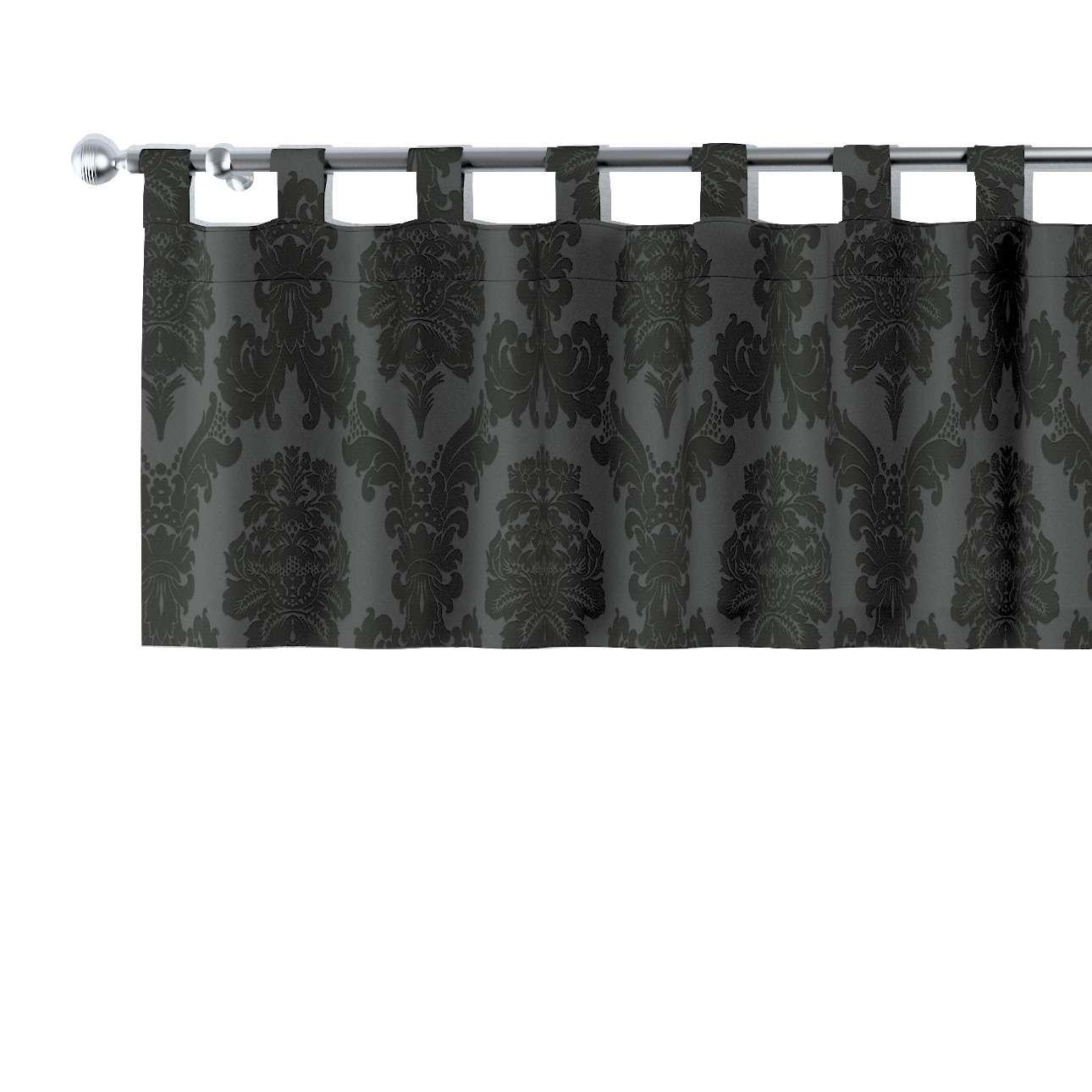 Gardinkappe med stropper 130x40cm fra kollektionen Damasco, Stof: 613-32