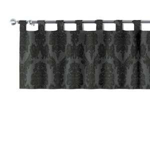 Kurzgardine mit Schlaufen 130x40cm von der Kollektion Damasco, Stoff: 613-32