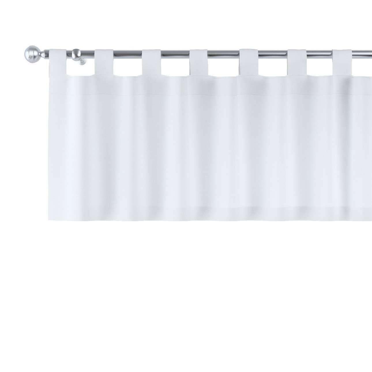Kurzgardine mit Schlaufen 130x40cm von der Kollektion Loneta, Stoff: 133-02