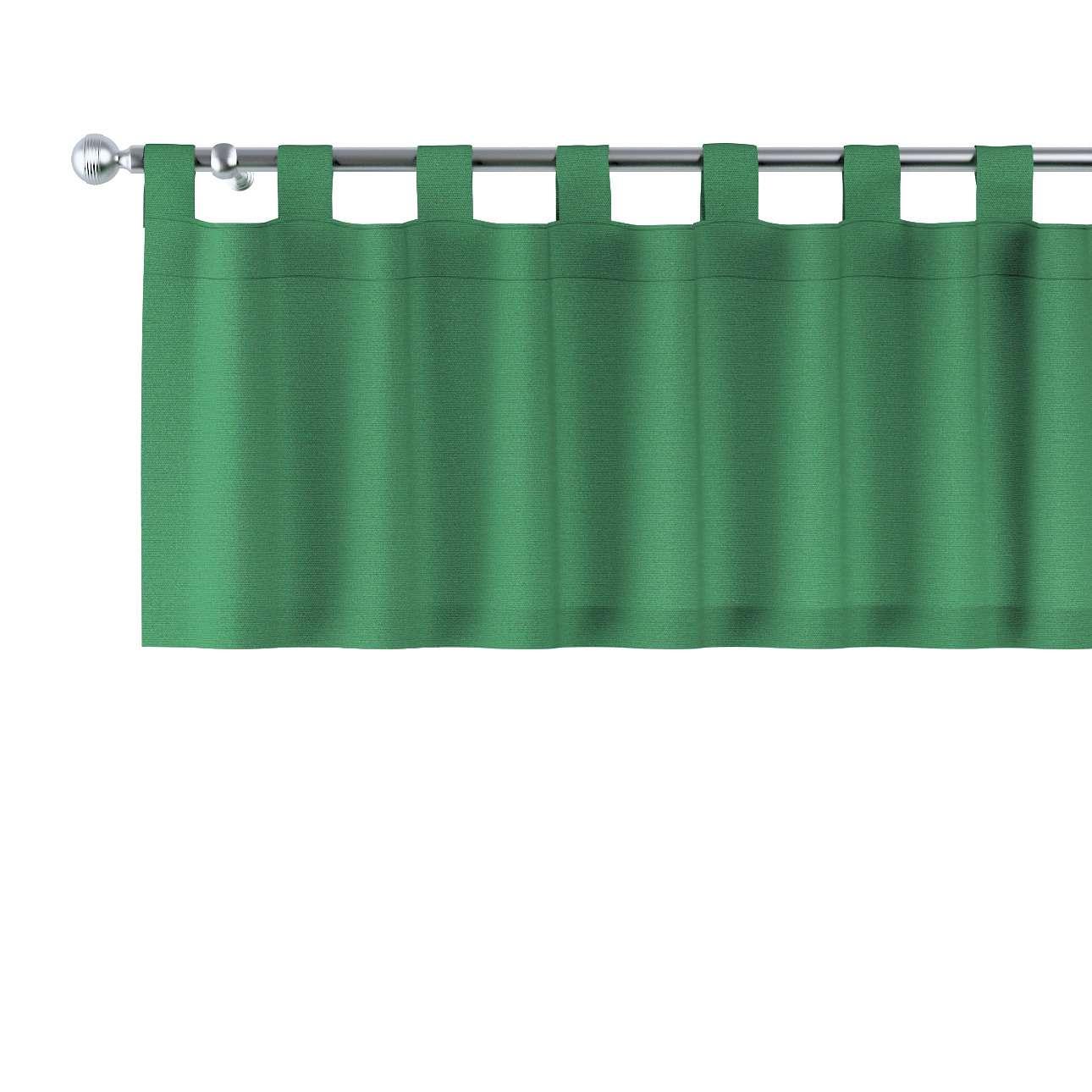 Kurzgardine mit Schlaufen 130x40cm von der Kollektion Loneta, Stoff: 133-18