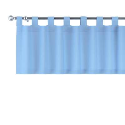 Kurzgardine mit Schlaufen 133-21 blau Kollektion Loneta
