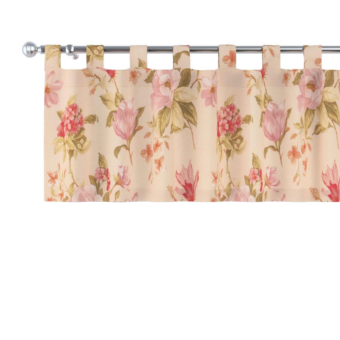 Krátky záves na pútkach V kolekcii Londres, tkanina: 123-05