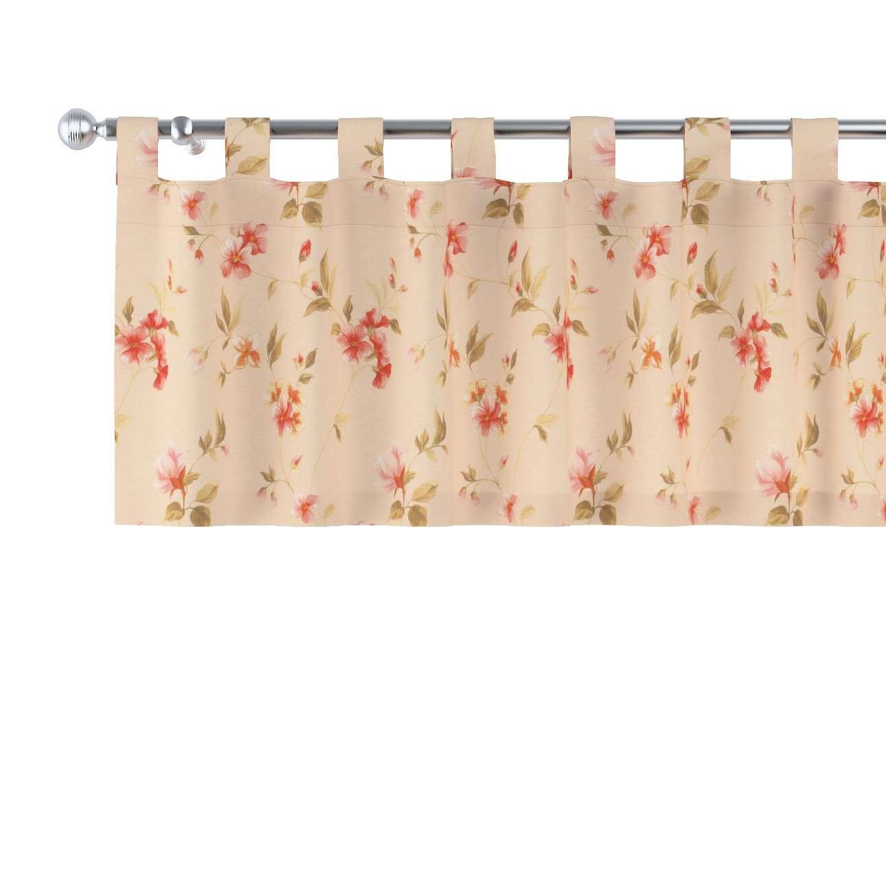 Krátky záves na pútkach V kolekcii Londres, tkanina: 124-05