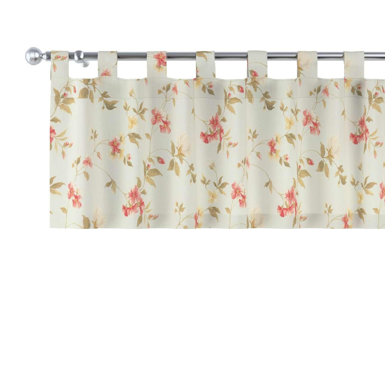 Krátky záves na pútkach V kolekcii Londres, tkanina: 124-65