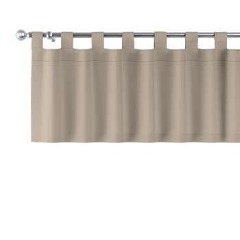 Kurzgardine mit Schlaufen von der Kollektion Cotton Panama, Stoff: 702-28