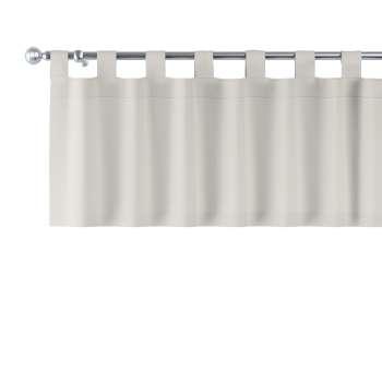 Kurzgardine mit Schlaufen von der Kollektion Cotton Panama, Stoff: 702-31