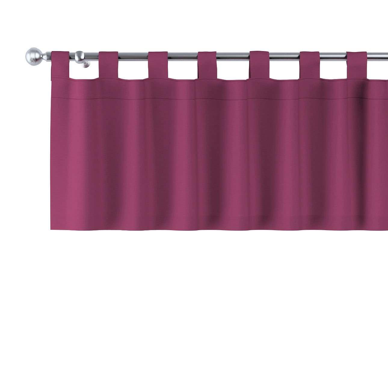 Gardinkappe med stropper fra kolleksjonen Cotton Panama, Stoffets bredde: 702-32