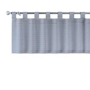 Lambrekin na szelkach 130x40cm w kolekcji Quadro, tkanina: 136-00