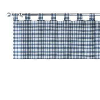 Gardinkappe med stropper 130 × 40 cm fra kolleksjonen Quadro, Stoffets bredde: 136-01
