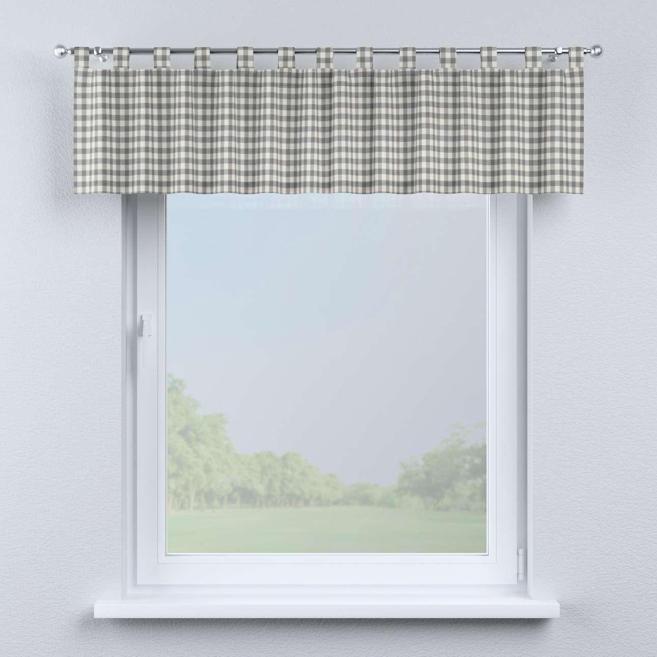 Krátky záves na pútkach V kolekcii Quadro, tkanina: 136-11