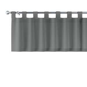 Kurzgardine mit Schlaufen 130x40cm von der Kollektion Quadro, Stoff: 136-14