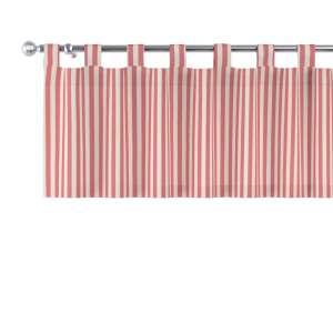 Trumpa užuolaidėlė (lambrekenas) kilpinis klostavimas 130x40cm kolekcijoje Quadro, audinys: 136-17