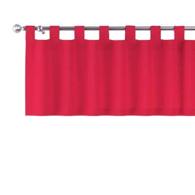 Lambrekin na szelkach 136-19 czerwony Kolekcja Quadro