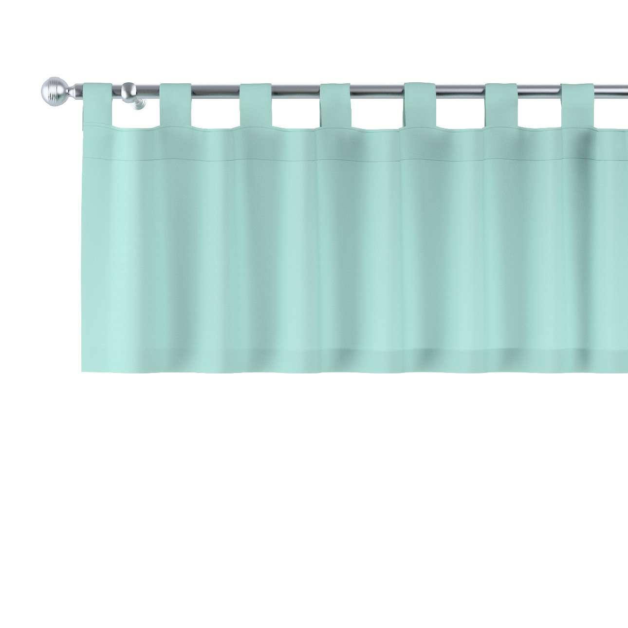 Gardinkappa med hällor i kollektionen Loneta, Tyg: 133-32
