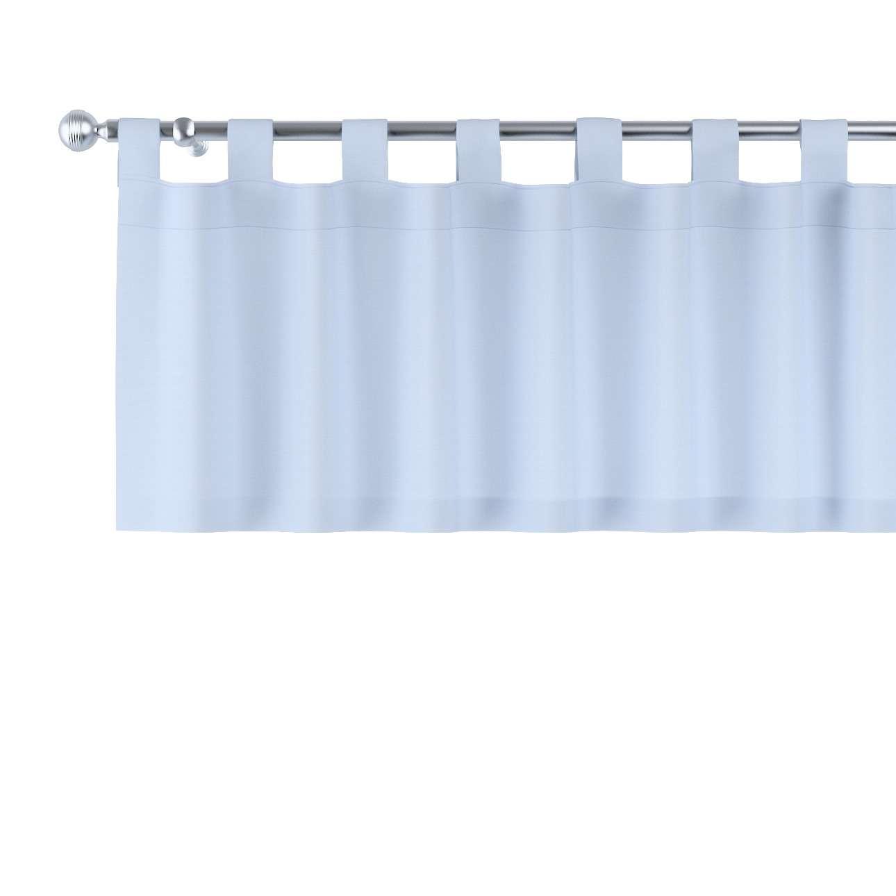 Gardinkappe med stropper fra kolleksjonen Loneta, Stoffets bredde: 133-35