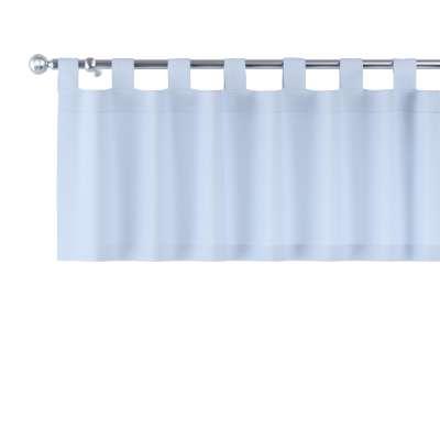 Lambrekin na szelkach 133-35 pastelowy niebieski Kolekcja Loneta