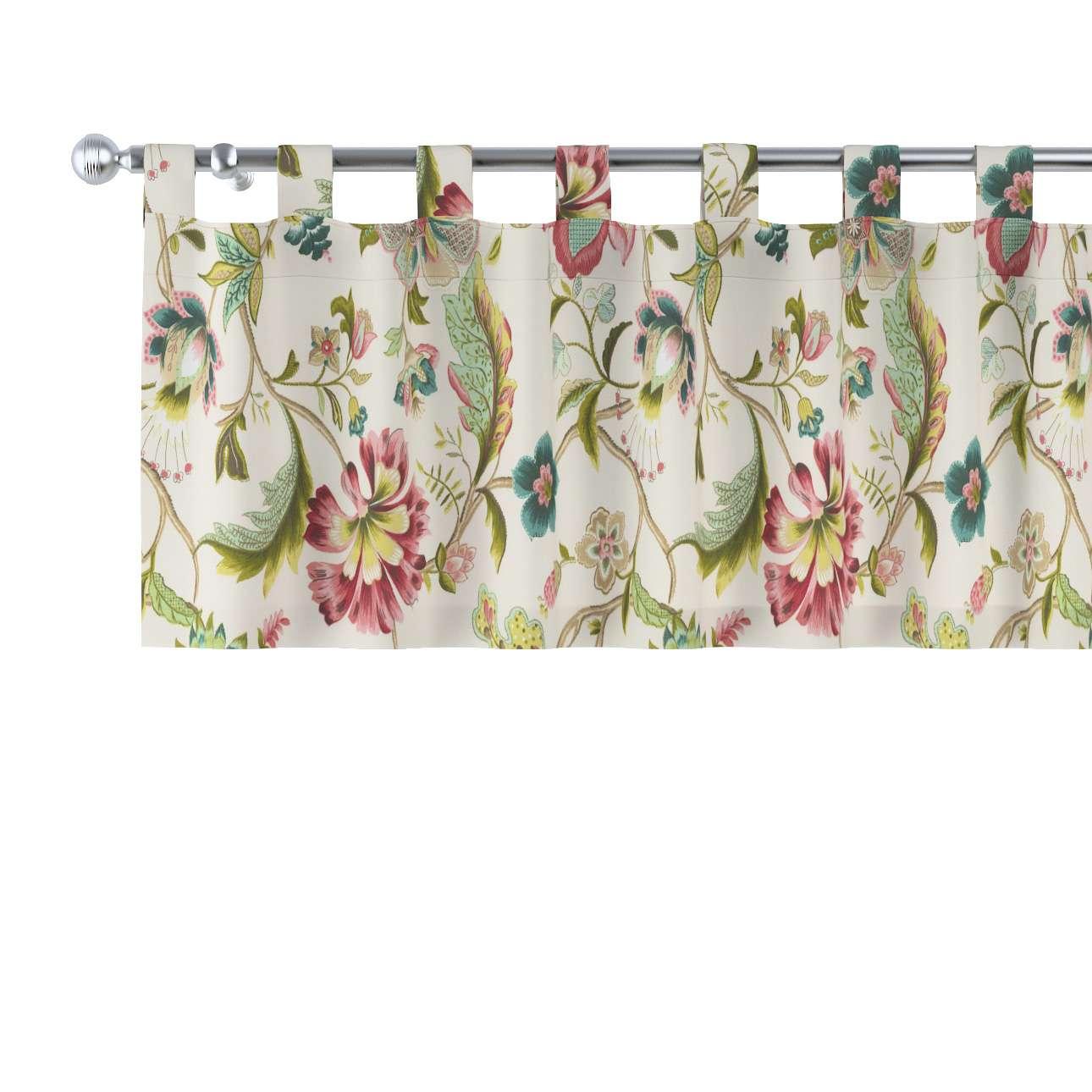 Krátky záves na pútkach V kolekcii Londres, tkanina: 122-00