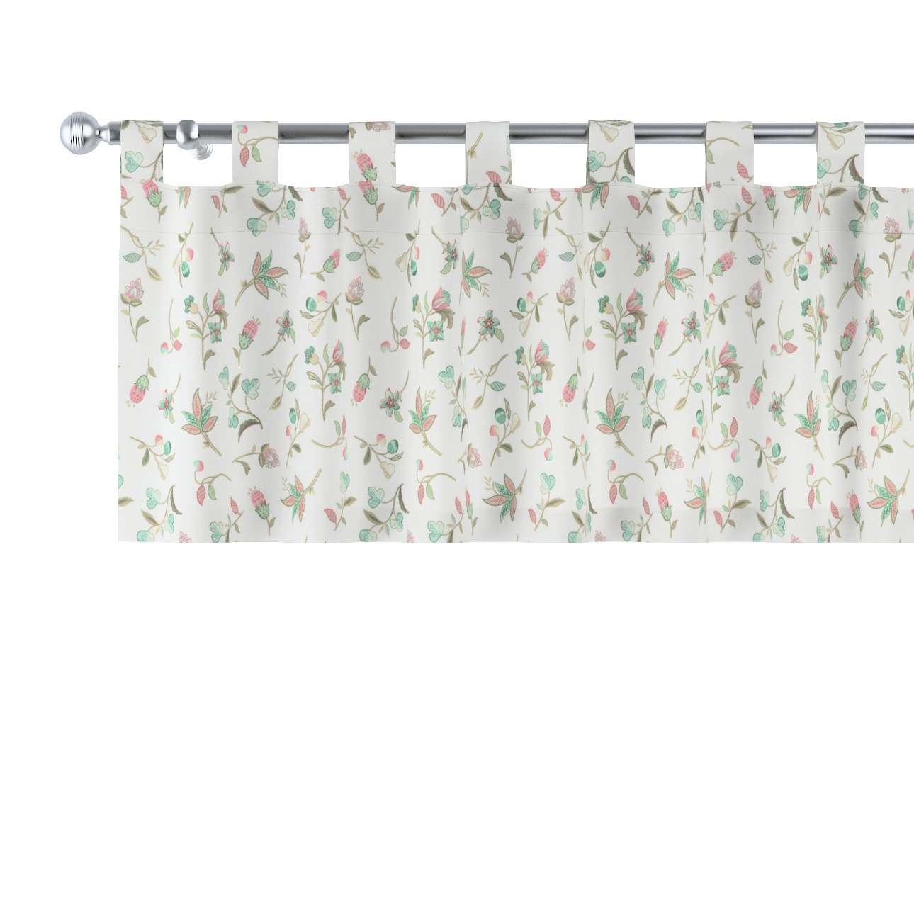 Gardinkappe med stropper fra kollektionen Londres, Stof: 122-02
