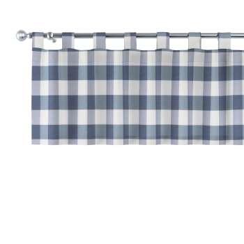Lambrekin na szelkach w kolekcji Quadro, tkanina: 136-03