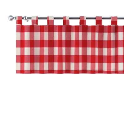Krátky záves na pútkach V kolekcii Quadro, tkanina: 136-18