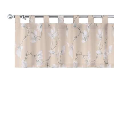 Lambrekin na szelkach 311-12 magnolie na beżowym tle Kolekcja Flowers