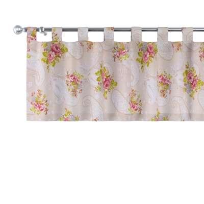 Lambrekin na szelkach w kolekcji Flowers, tkanina: 311-15