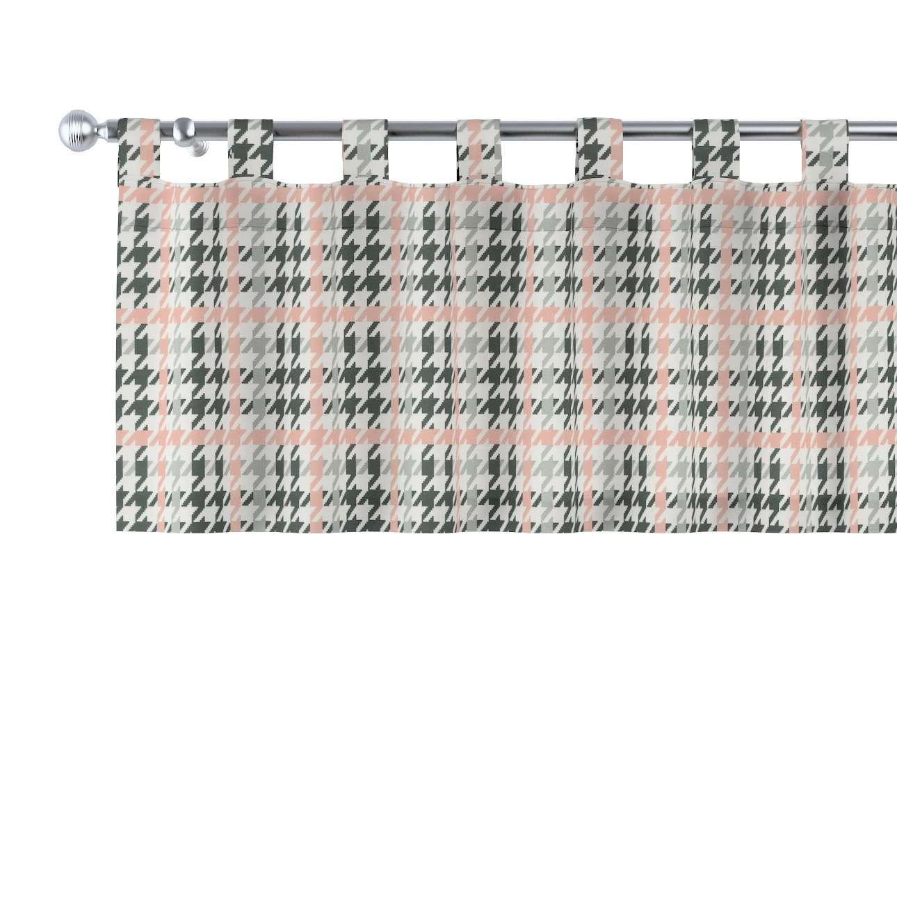Gardinkappa med hällor 130 × 40 cm i kollektionen Brooklyn , Tyg: 137-75