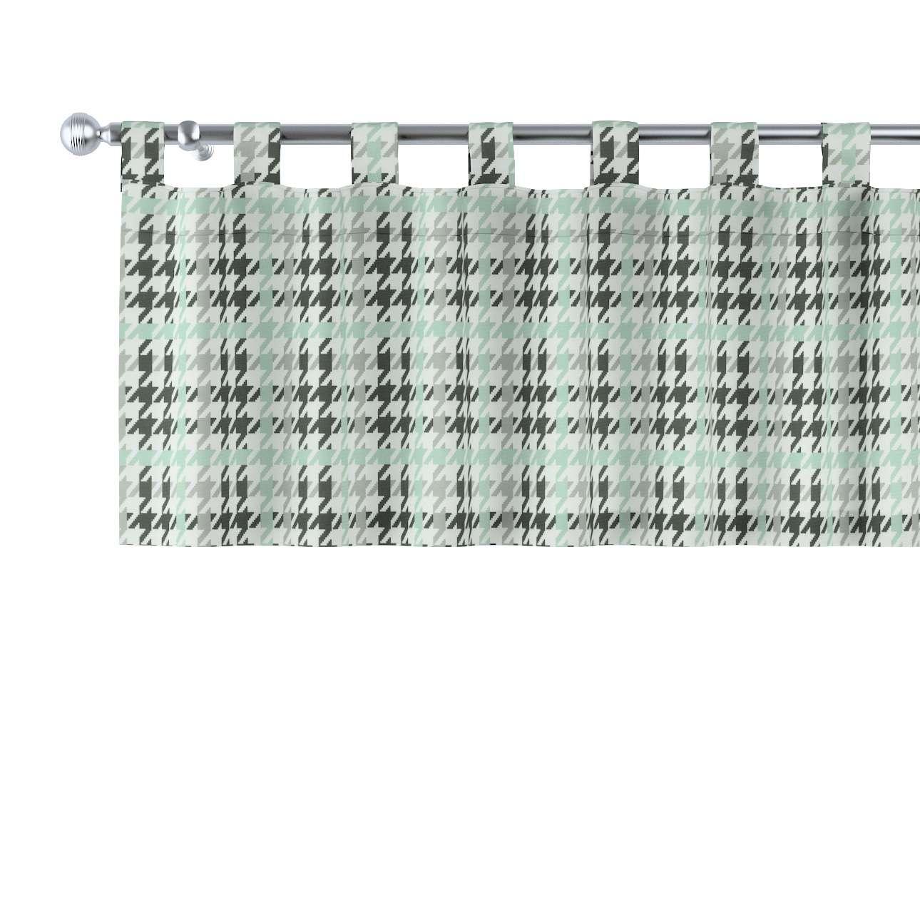 Kurzgardine mit Schlaufen 130x40cm von der Kollektion Brooklyn, Stoff: 137-77