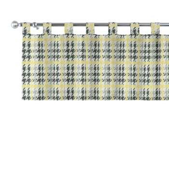 Kurzgardine mit Schlaufen 130x40cm von der Kollektion Brooklyn, Stoff: 137-79