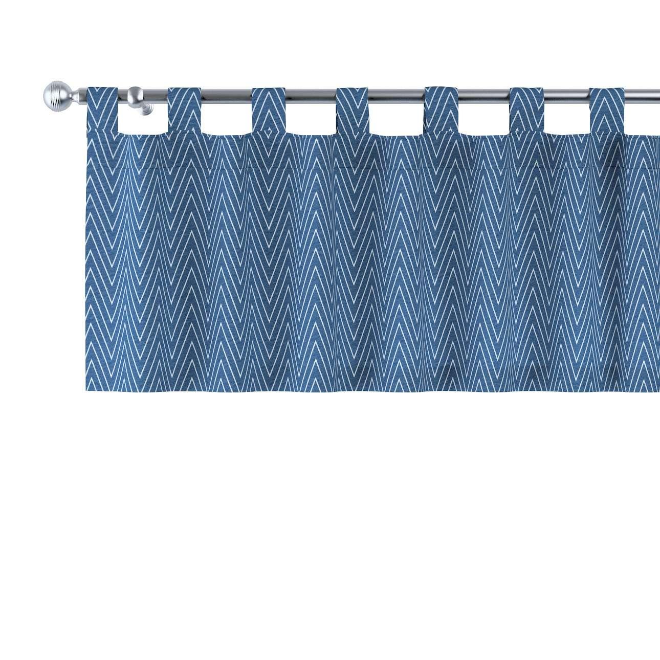 Gardinkappa med hällor i kollektionen Brooklyn, Tyg: 137-88