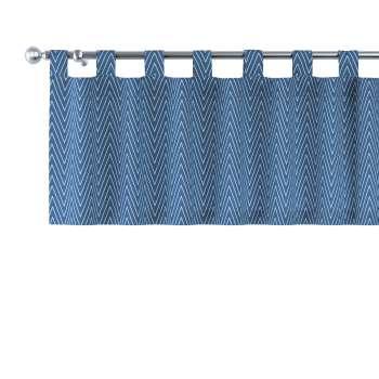 Gardinkappe med stropper fra kolleksjonen Brooklyn , Stoffets bredde: 137-88