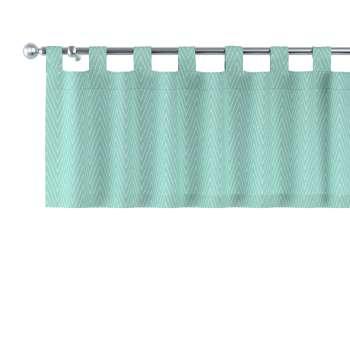 Gardinkappe med stropper fra kolleksjonen Brooklyn , Stoffets bredde: 137-90