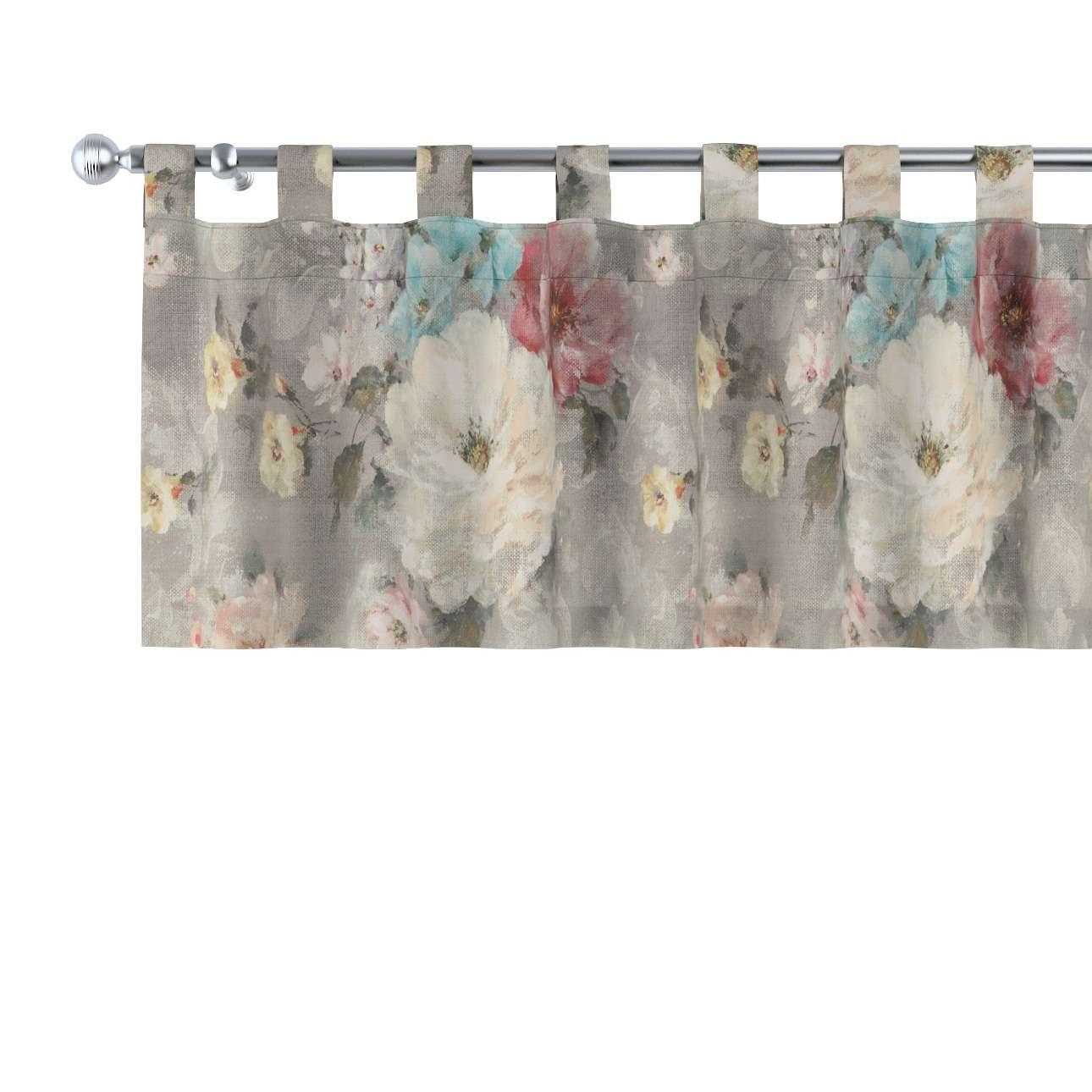 Gardinkappe med stropper 130 × 40 cm fra kolleksjonen Monet , Stoffets bredde: 137-81