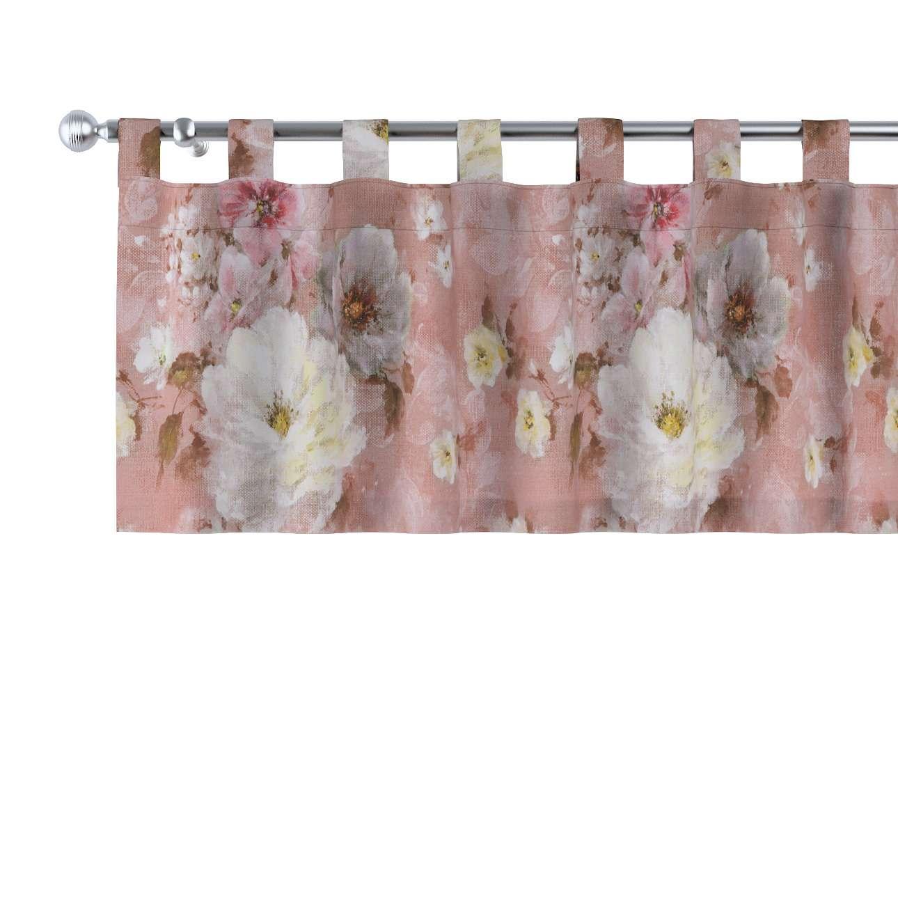 Gardinkappe med stropper fra kolleksjonen Monet , Stoffets bredde: 137-83