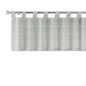 Kurzgardine mit Schlaufen 130x40cm von der Kollektion Flowers, Stoff: 140-38