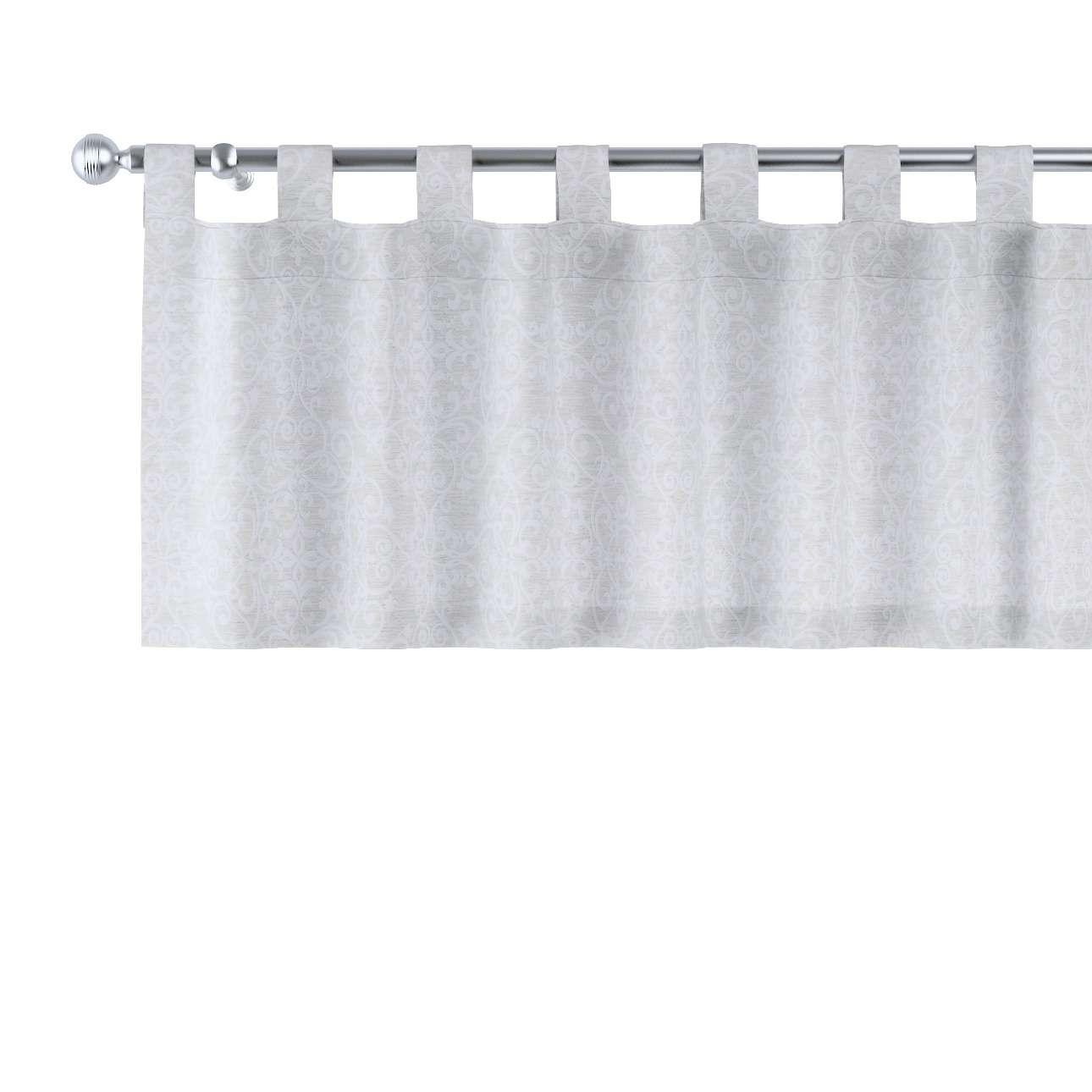 Gardinkappa med hällor i kollektionen Venice - NYHET, Tyg: 140-49