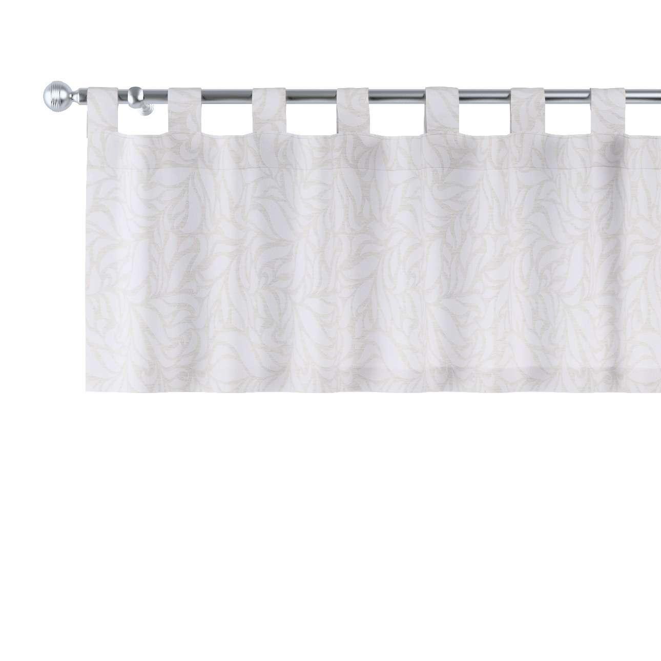 Krátky záves na pútkach V kolekcii Venice, tkanina: 140-50