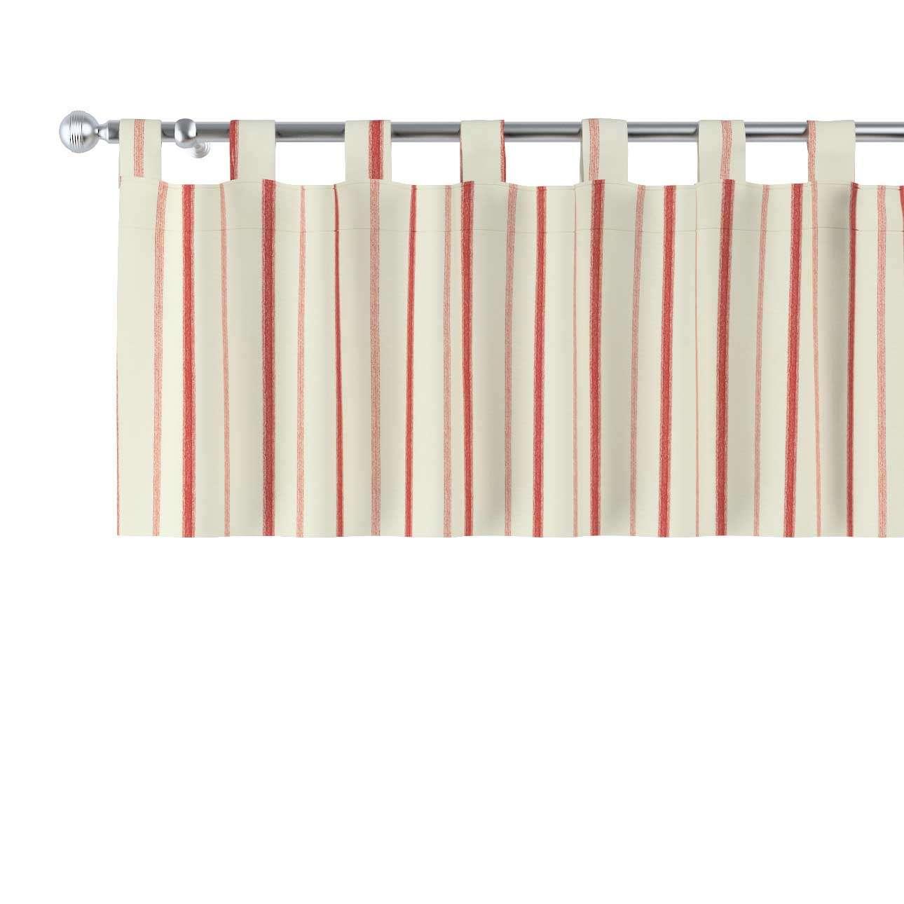 Gardinkappa med hällor 130 × 40 cm i kollektionen Avinon, Tyg: 129-15