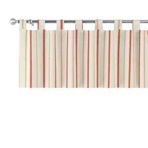 Kurzgardine mit Schlaufen 130x40cm von der Kollektion Avinon, Stoff: 129-15